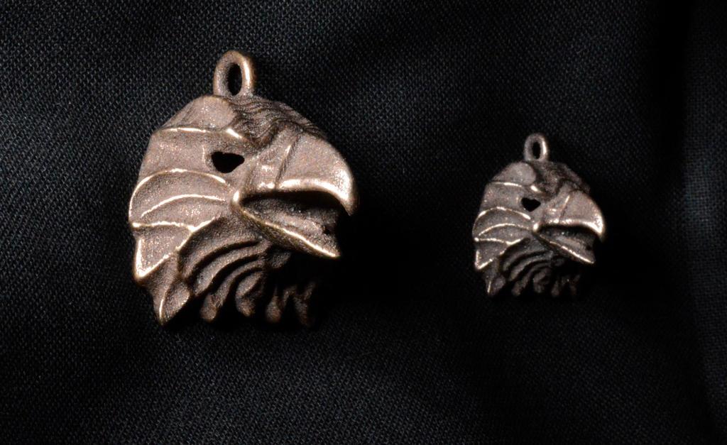 Eagle pendant by MichaelEastwood
