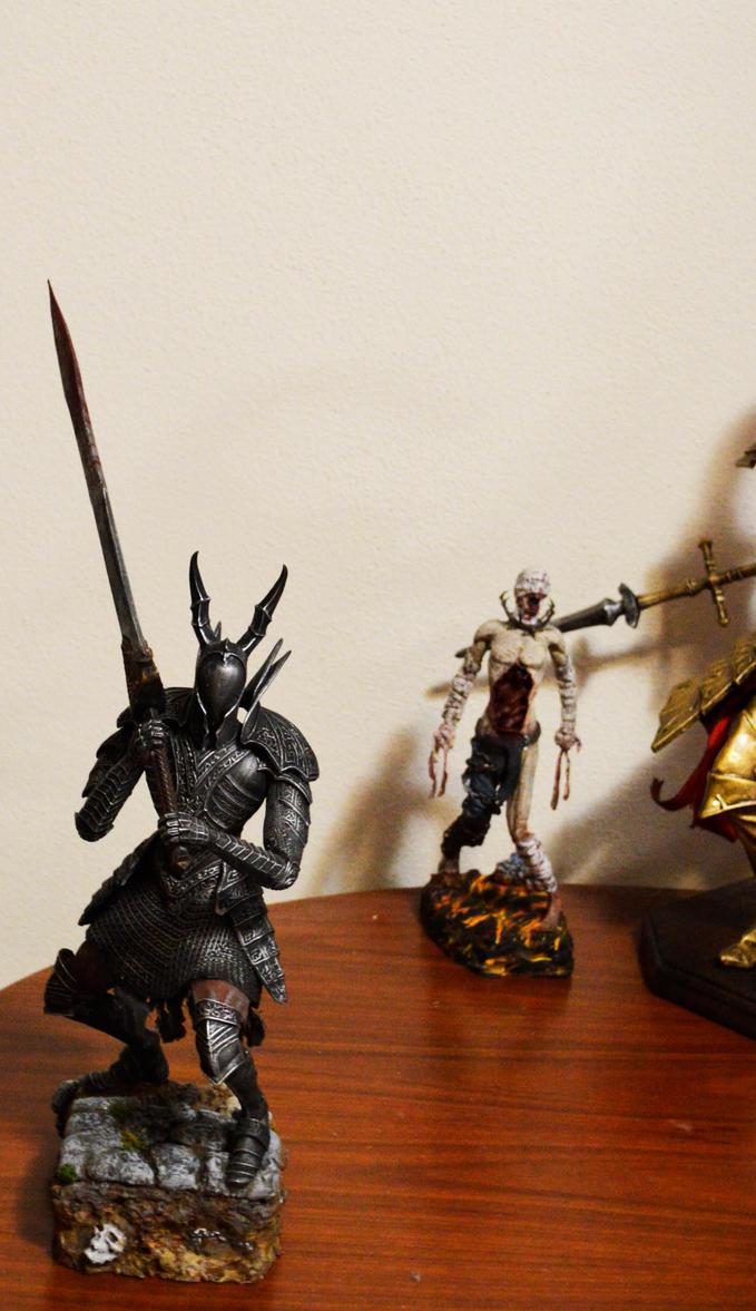 Dark Souls Sculptures. by MichaelEastwood