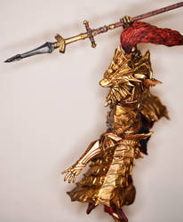 Ornstein Dragon Slayer Sculpture by MichaelEastwood
