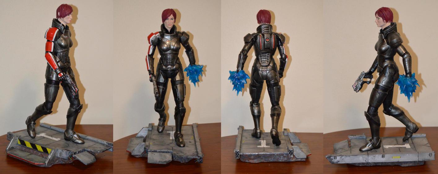 Fem Shep Mass Effect 3  Sculpture by MichaelEastwood