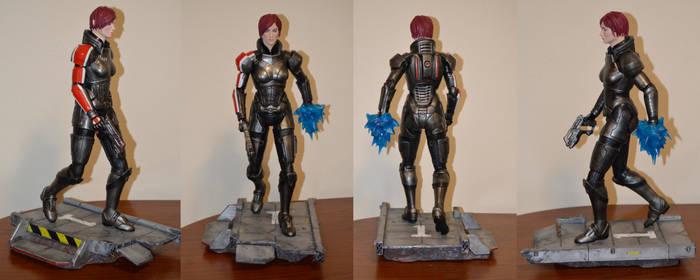 Fem Shep Mass Effect 3  Sculpture