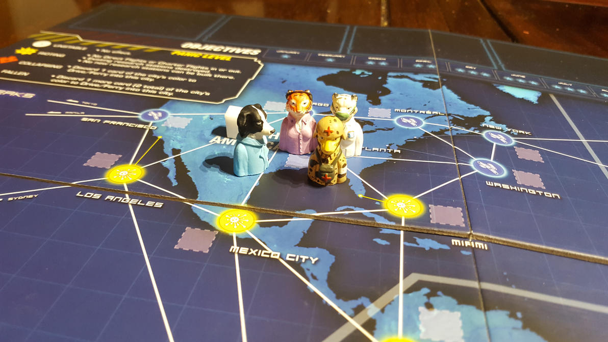 Pandemic Legacy Custom Characters by MichaelEastwood