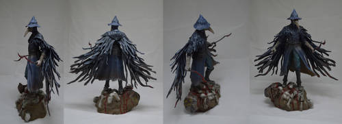 Eileen the crow sculpture