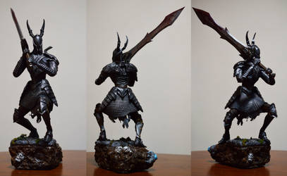 Dark Souls Black Knight (Sold)