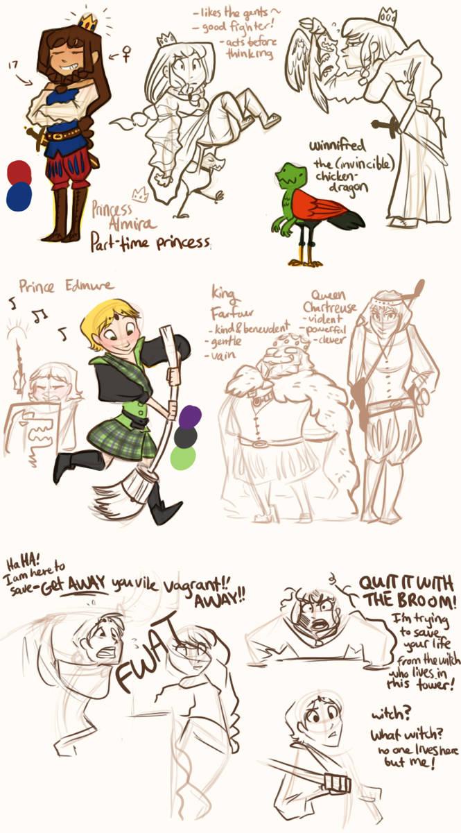Princess Story Ideas by Jitterladybug on DeviantArt