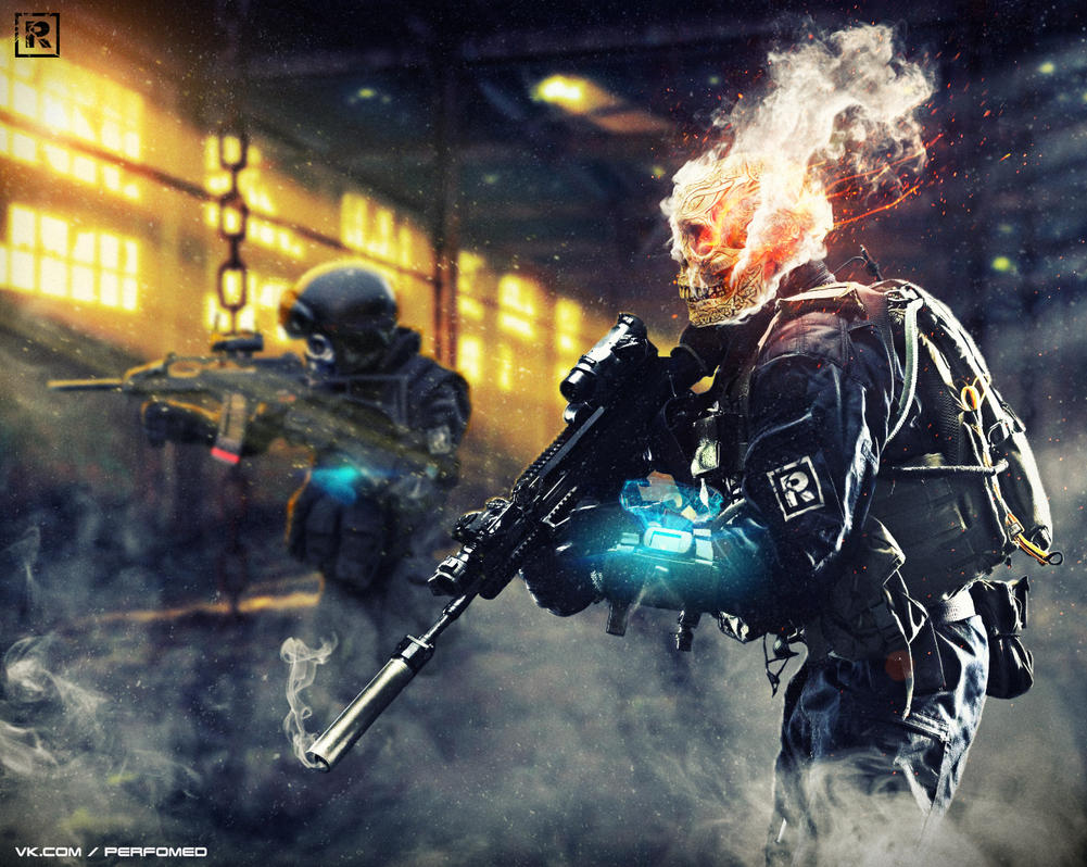 Skulls Squad by PerfomedRuss