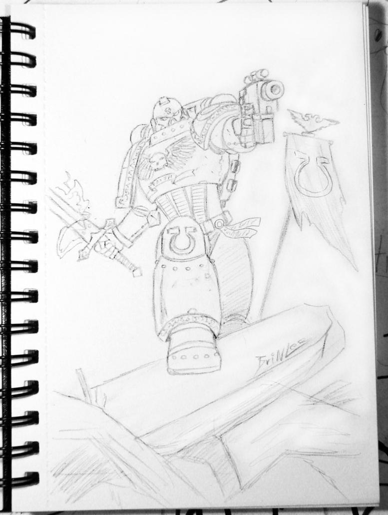 40K Sketch by Taman88