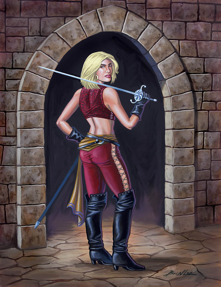 Swordmistress by Taman88