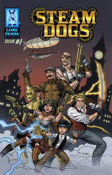 Steam Dogs Issue 1 Cover