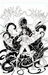 Cover to Persia the Lightning Dragon #2