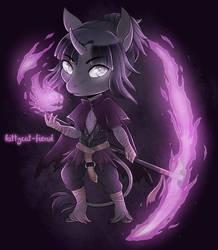 Dark Mage by kittycat-fiend