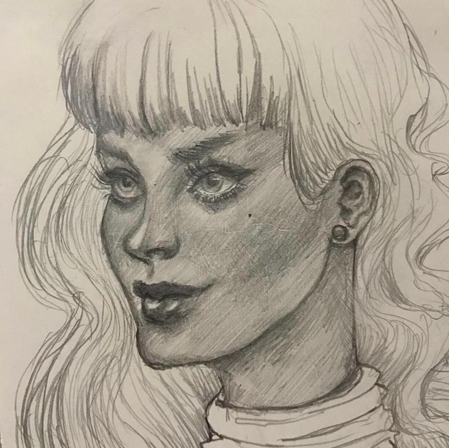 Night time sketch by GVelicastelo