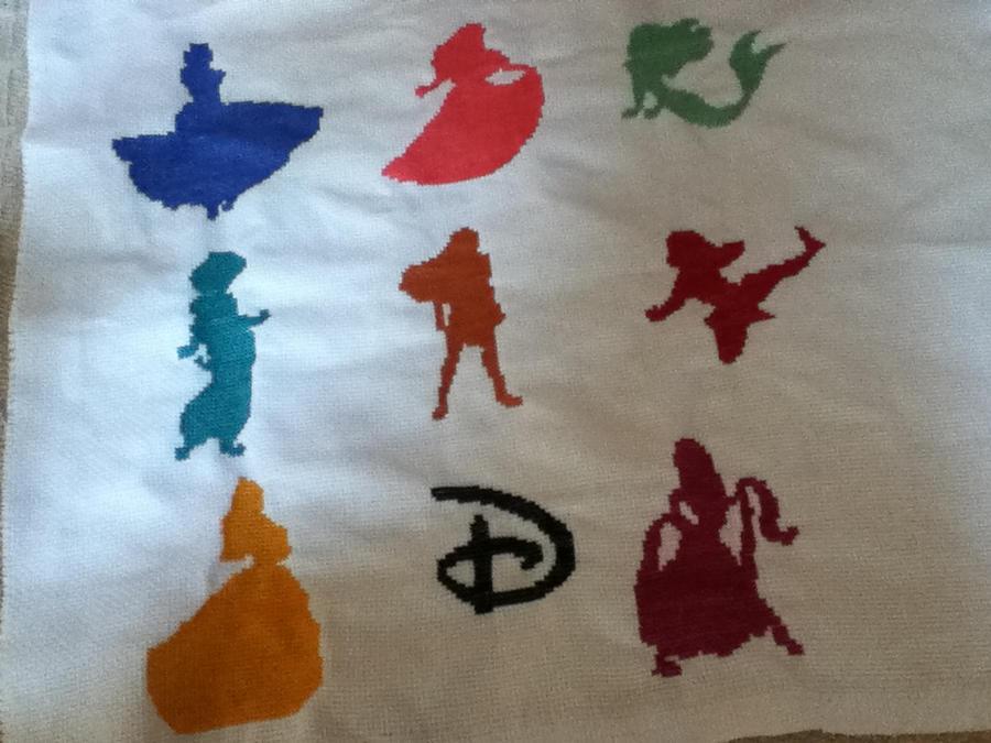 Disney Princess Silhouette Disney Princess Silhouettes by