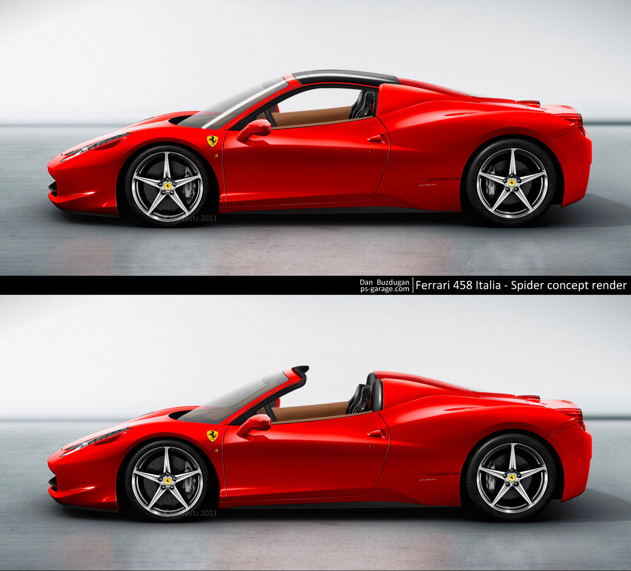 ferrari 458 italia spider by danyutz on deviantart. Black Bedroom Furniture Sets. Home Design Ideas
