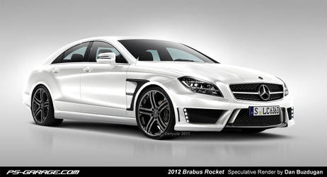 2012 Brabus Rocket Speculative by Danyutz