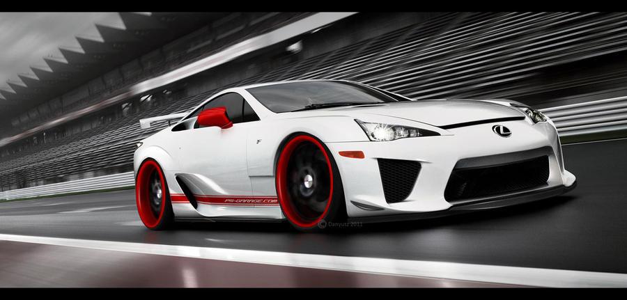 Lexus LFA by Danyutz
