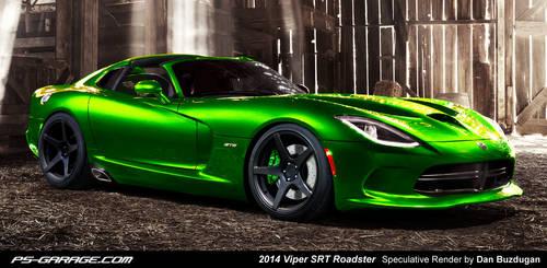 2014 Viper SRT Targa