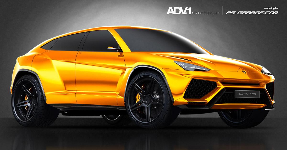 2014 Lamborghini Urus Concept By Danyutz On Deviantart