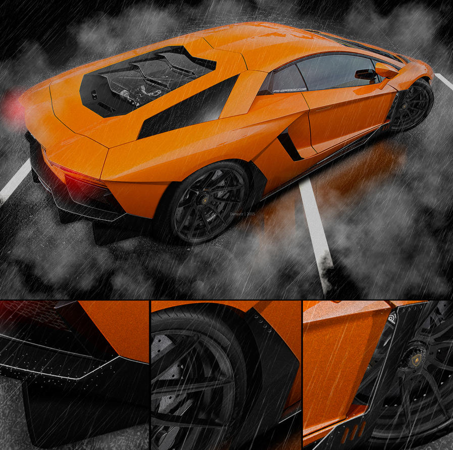 Lamborghini Aventador by Danyutz