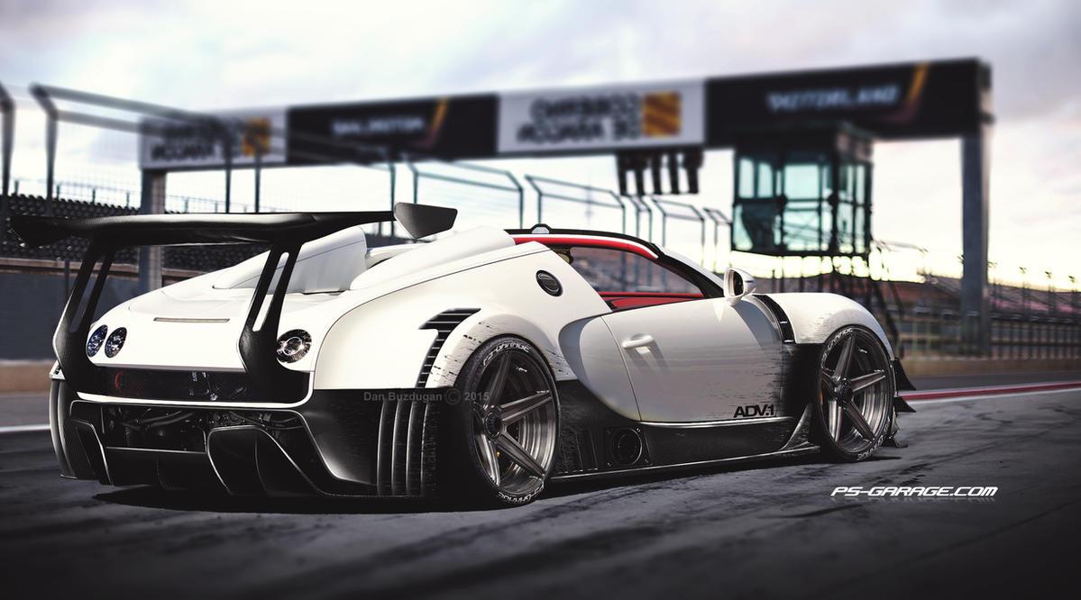 Bugatti Veyron by Danyutz