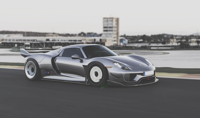 Porsche 918 by Danyutz