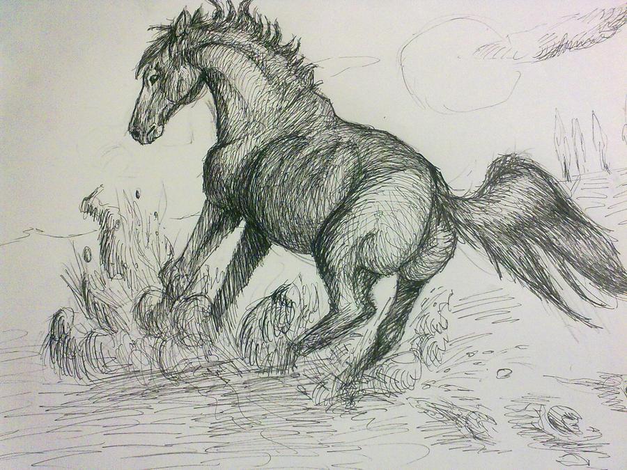 brake horse by Bawaria