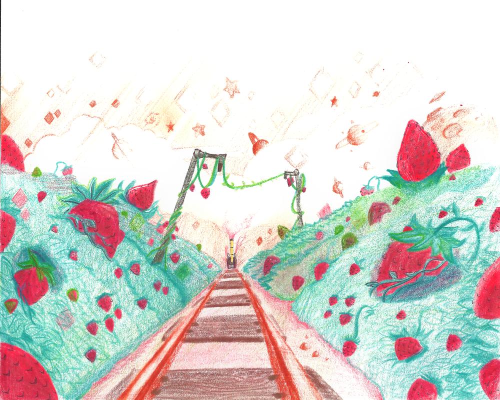 Strawberry Feild by Scarlet-Ajani