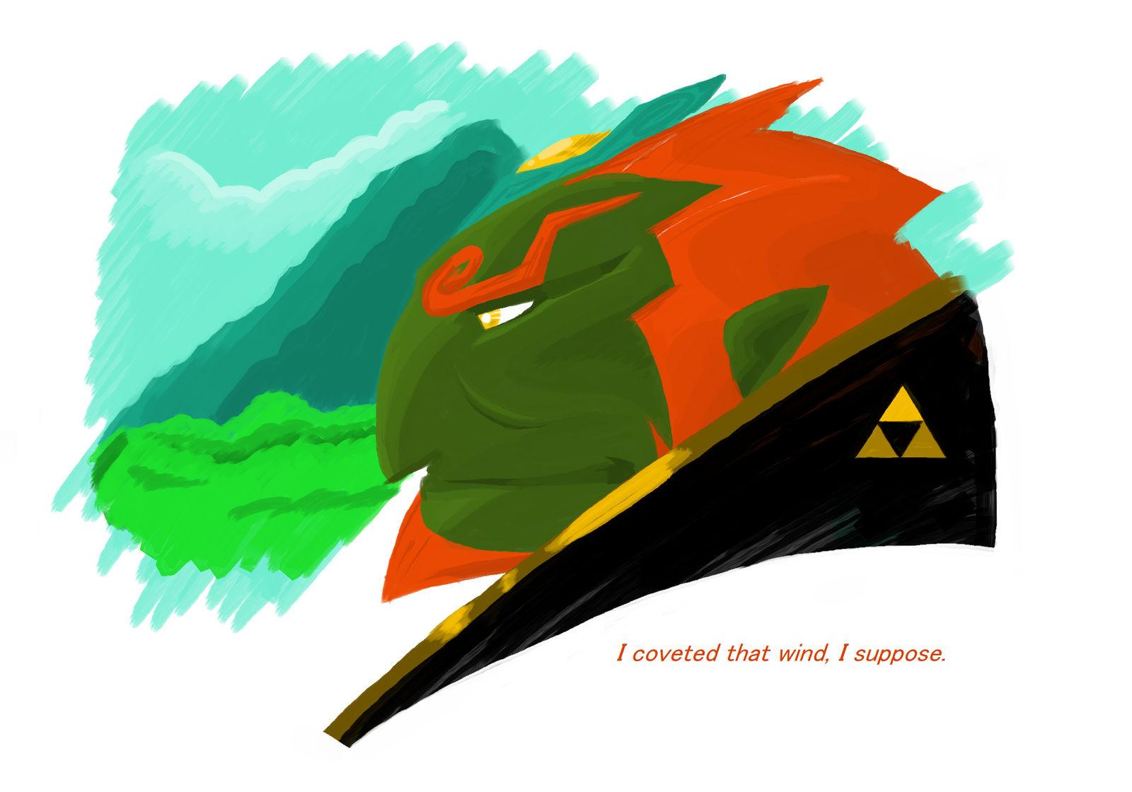 Ganondorf Dragmire Wind Waker By Mariiboops On Deviantart