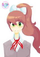 Just Monika by Scarlet-Ajani