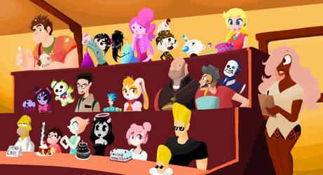 Random Characters 3: Cake!