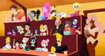 Random Characters 3: Cake! by Scarlet-Ajani