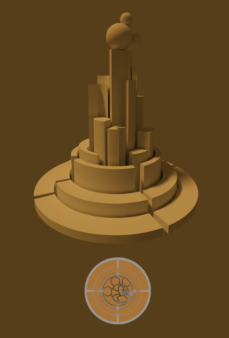Disney Towers 3D Concept by Scarlet-Ajani