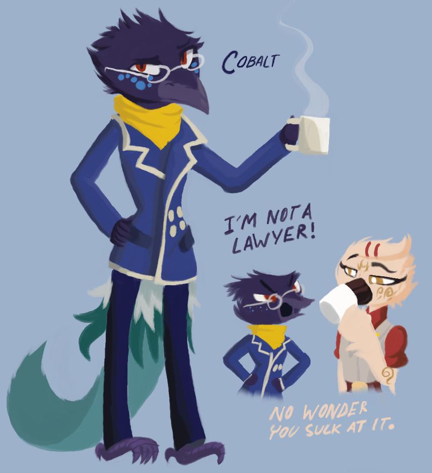 Cobalt: Art-Trade by Scarlet-Ajani