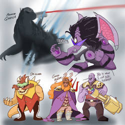 Random Fusions 5: The Brutes by Scarlet-Ajani