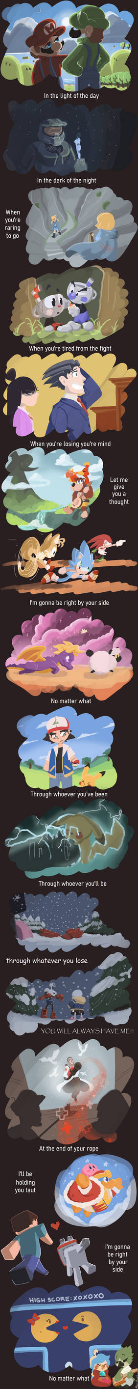 No Matter What (Crossover Comic)