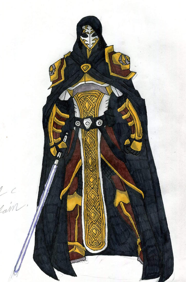 Master Jhredair Terran(jedi armor) by supertodd9