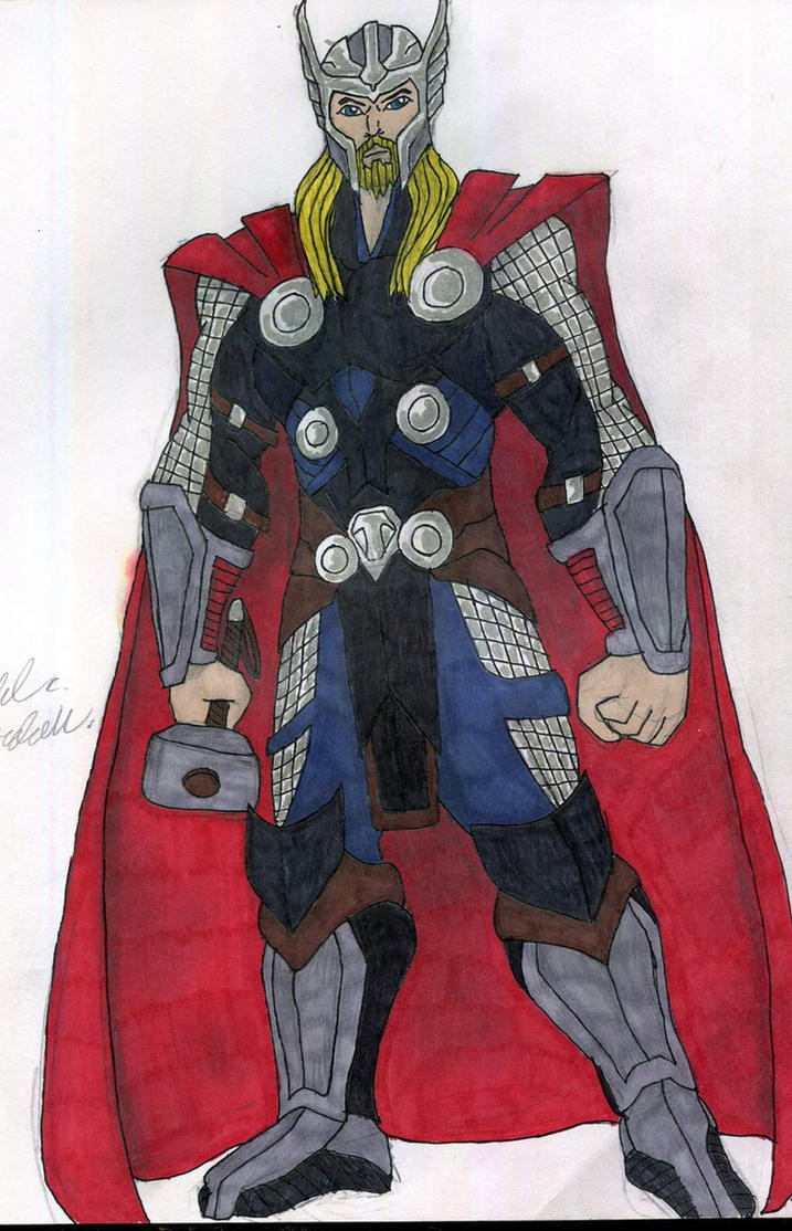 Thor by supertodd9