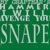 Snape icon - usable by all by The-OxyG