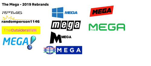 All The Mega Logos by RedeRupert