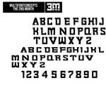 Multifontconcepts 2 - 3M Font Concept