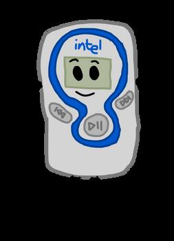 Intel MP3 Player 2 (My Object Show OC)