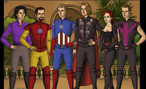 Avengers by Marianagmt