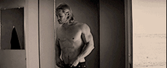 Thor and Jane changing roles 1 (GIF) by Marianagmt
