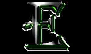 E-letter logo
