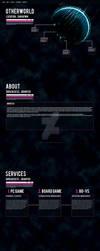 Sci Fi - Website Design by eddyrailgun