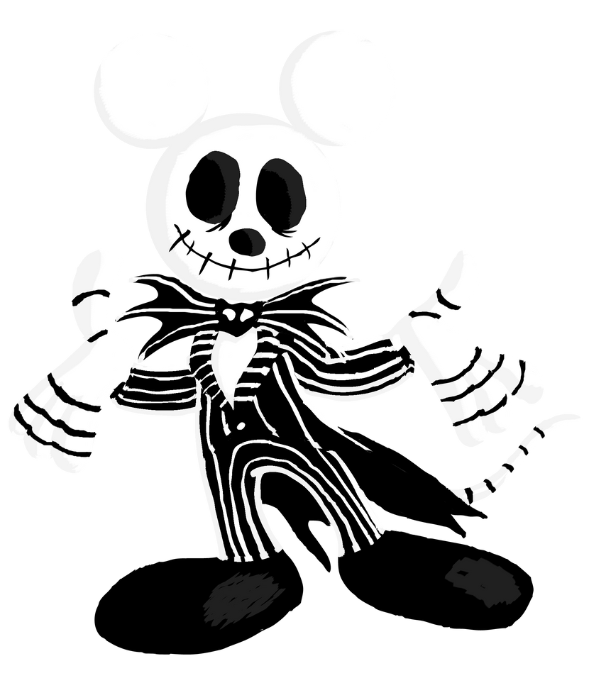 Mickey Skellington final by DarylT