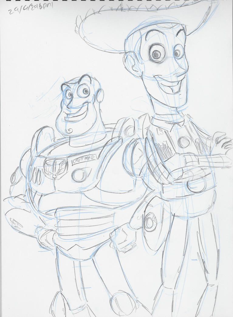 Woody and Buzz by DarylT