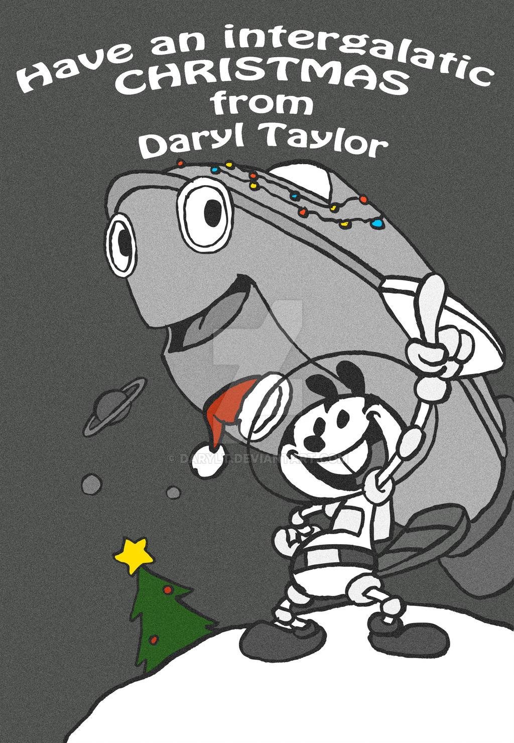 Christmas card 2016 colour by DarylT