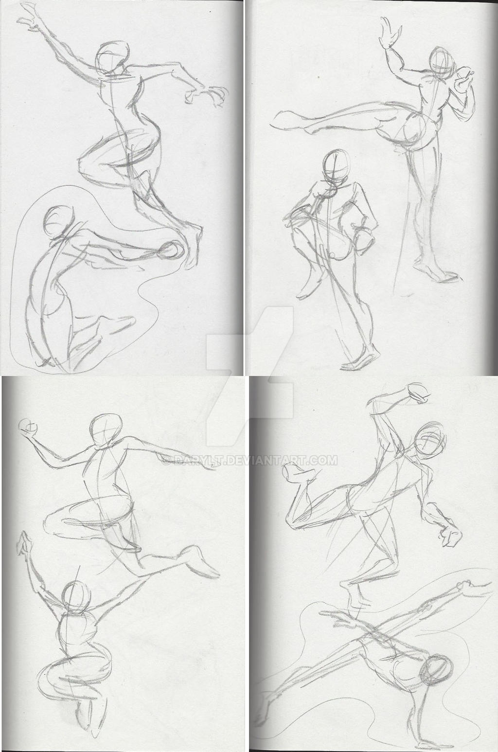 Motion poses 2 multi by DarylT