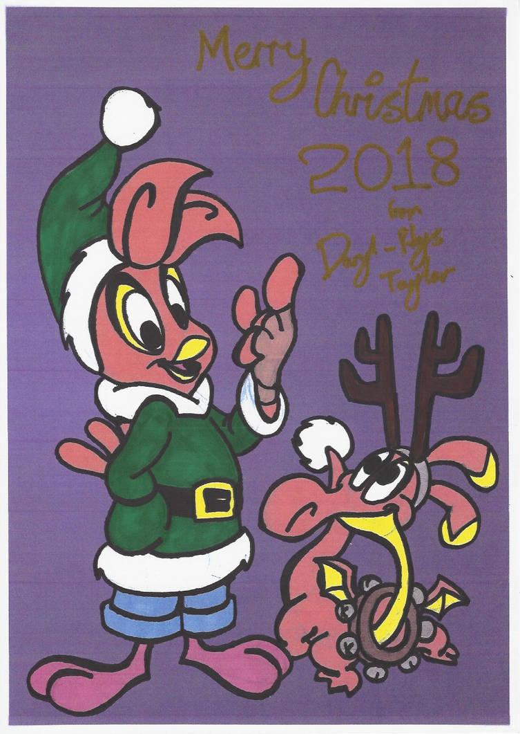 Christmas Card 2018 colour